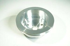 SBC CHEVY SINGLE GROOVE LOWER CRANK PULLEY  LWP # 9484 CLEARANCE!