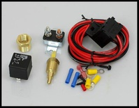 FAN THERMOSTAT KIT TEMP SENSOR ON AT 200 OFF AT 185 RELAY KIT # 3101