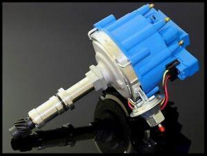 BUICK BIG BLOCK V8 400 430 455 HEI DISTRIBUTOR 6525-BLUE