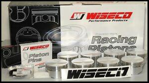 FORD 347 WISECO FORGED PISTONS 030 OVER -10cc DISH TOP KP491A3-4.030