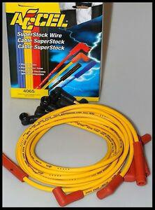 ACCEL SPARK PLUG WIRES FITS FORD POINT STYLE DISTRIBUTORS V-8 60% OFF # 4046