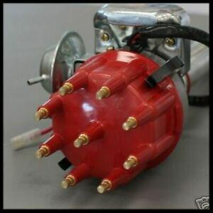 FORD 351C CLEVELAND READY TO RUN COMPLETE DISTRIBUTOR 6706-R RED