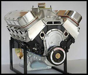 BBC CHEVY 582 ENGINE 8.5, DART BLOCK, CRATE MOTOR 750 hp BASE ENGINE