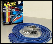 ACCEL 5000 SERIES PLUG WIRES SBC 350 383 400 HEI & POINT DIST. 5041-B CLEARANCE