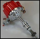 FORD 289 302 5.0 5.0L HEI COMPLETE DISTRIBUTOR LONG SHAFT # 6502-5-RED