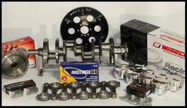 SBC CHEVY 434 ASSEMBLY SCAT & WISECO +8cc DOME 4.155 PISTONS 2PC RMS-350 MAINS