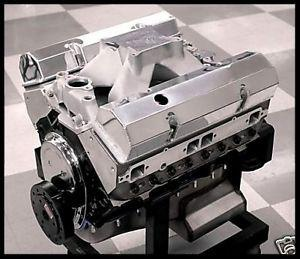 SBC CHEVY 434 STAGE 5.5 DART BLOCK, AFR HEADS, CRATE MOTOR 632 hp BASE ENGINE