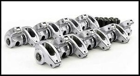 SBC CHEVY COMP CAMS HIGH ENERGY ALUMINUM ROLLER ROCKERS 1.6 3/8's  #17002-16
