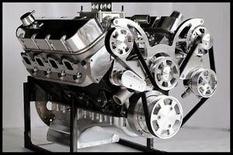 BBC CHEVY 632 STAGE 9.5 TURN KEY MOTOR DART BLOCK, AFR HEADS 812 hp-SERPENTINE