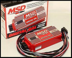 MSD 6425 CAPACITIVE DISCHARGE UNIT DIGITAL 6AL # 6425-RED