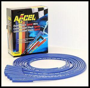 ACCEL 5000 SERIES PLUG WIRES STR. BOOT HEI OR POINT DIST. 5040-B CLEARANCE