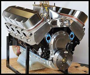 BBC CHEVY 540-555 ENGINE, STAGE 7.0 DART BLOCK, CRATE MOTOR 724 hp BASE ENGINE