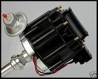 BBF Ford 351C 429 460 HEI Ignition Distributor Black Cap 351M 400M  # 6506-Bk