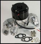 BBC CHEVY ELITE ULTRA FLOW ELECTRIC WATER PUMP POLISHED # E-5927-P